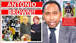 Antonio Brown (Free Agent) It's Time For An Intervention! First Take Stephen/Max [Commentary]