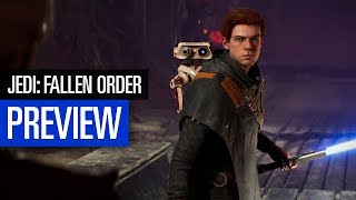 Star Wars Jedi: Fallen Order | PREVIEW | Dark Souls im Weltraum