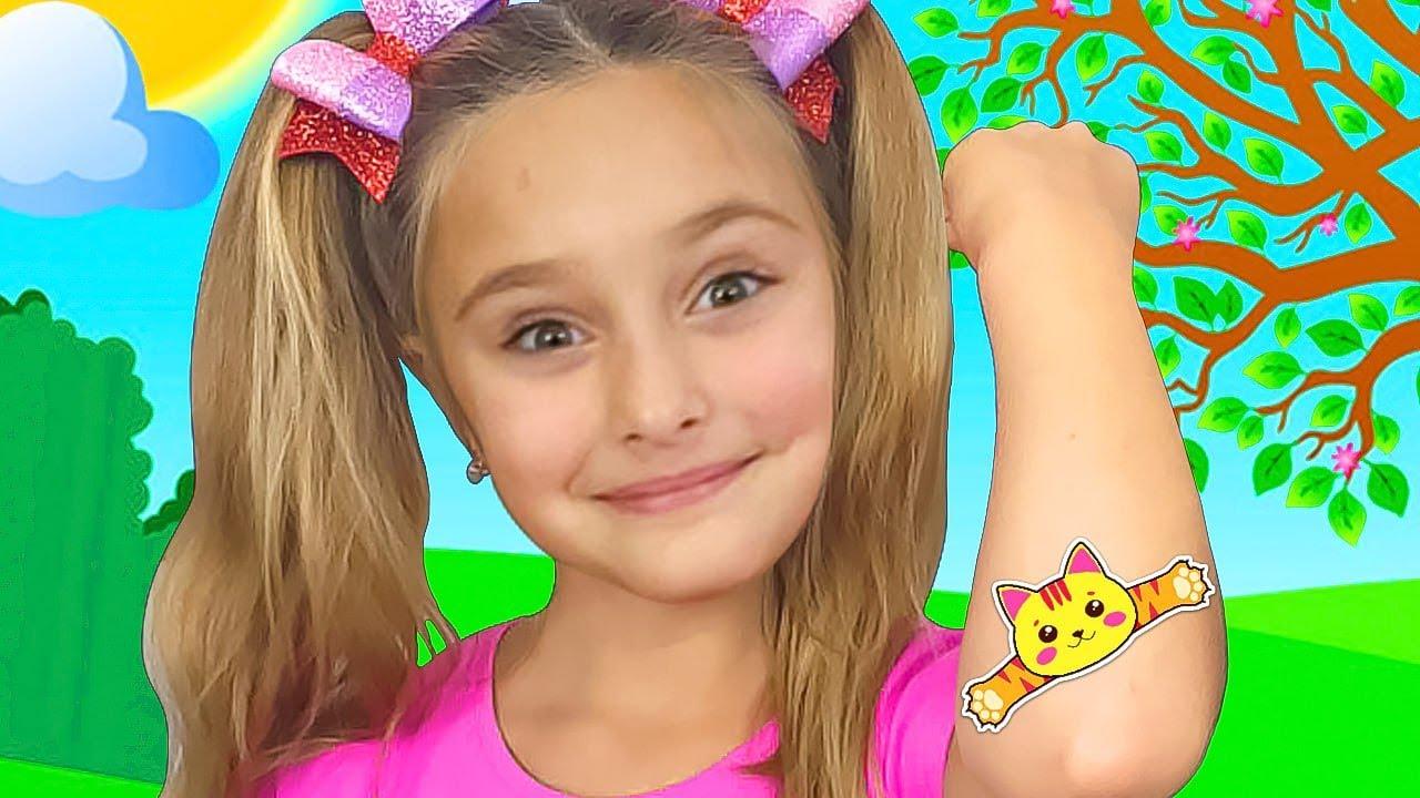 Download Sasha and Max sing The Boo Boo Kid Songs Nursery Rhymes