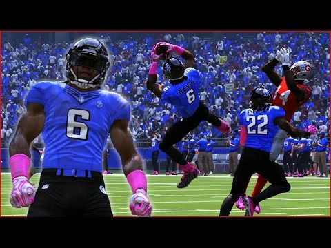 PRO BOWL!!! TD AND RICHARD SHERMAN  CATCHING PICKS IN THE PRO BOWL!!! MADDEN 17 CAREER MODE FS