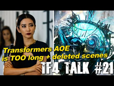 Transformers Age of Extinction is TOO LONG?!?! + deleted scenes - [TF4 Talk #21]