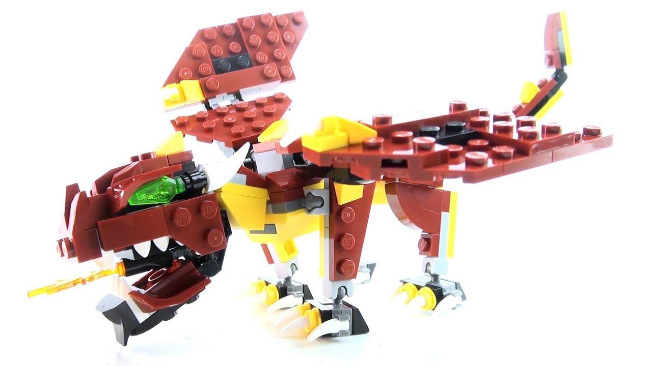 31073 LEGO Creator Mythical Creatures Dragon Toy Set