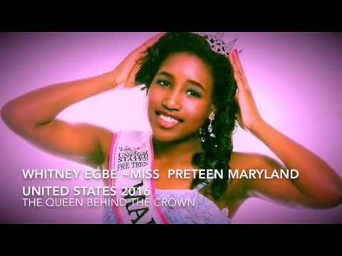 Miss Pre-Teen Maryland United States 2016