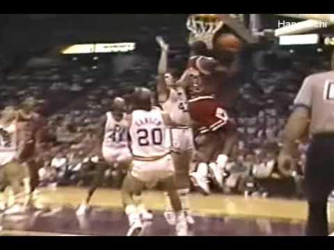 "Michael Jordan, ""Is that big enough?"""