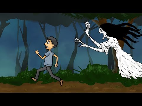 kartun horor lucu - Kuntilanak Ngidam Bakso