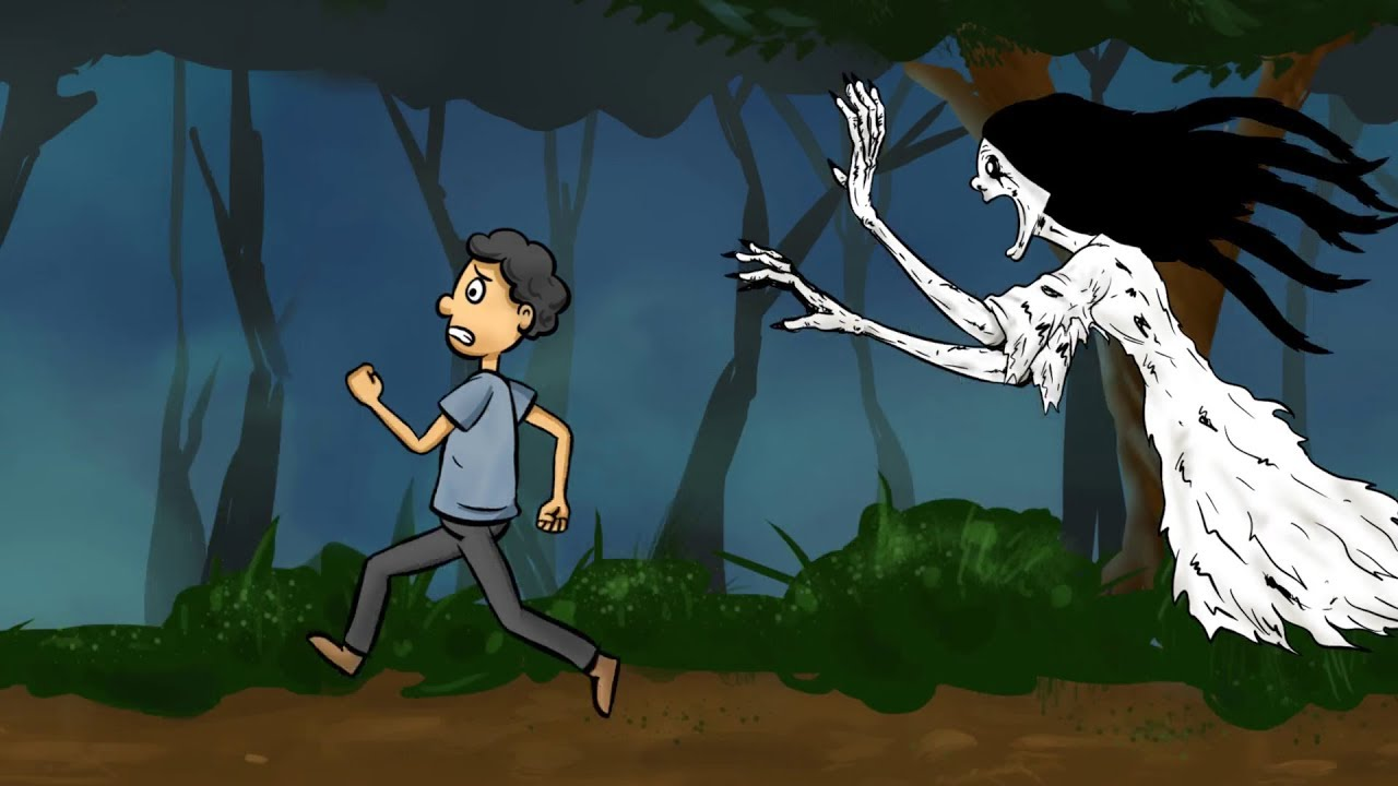 kartun horor lucu   kuntilanak ngidam bakso   youtube