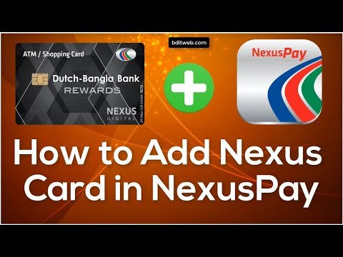 How to add Debit/Credit Card in DBBL NexusPay App