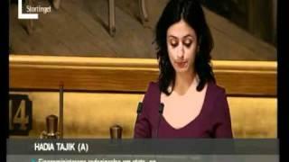 Hadia Tajik: Framtidas konkurransekraft er trygghet og verdiskaping