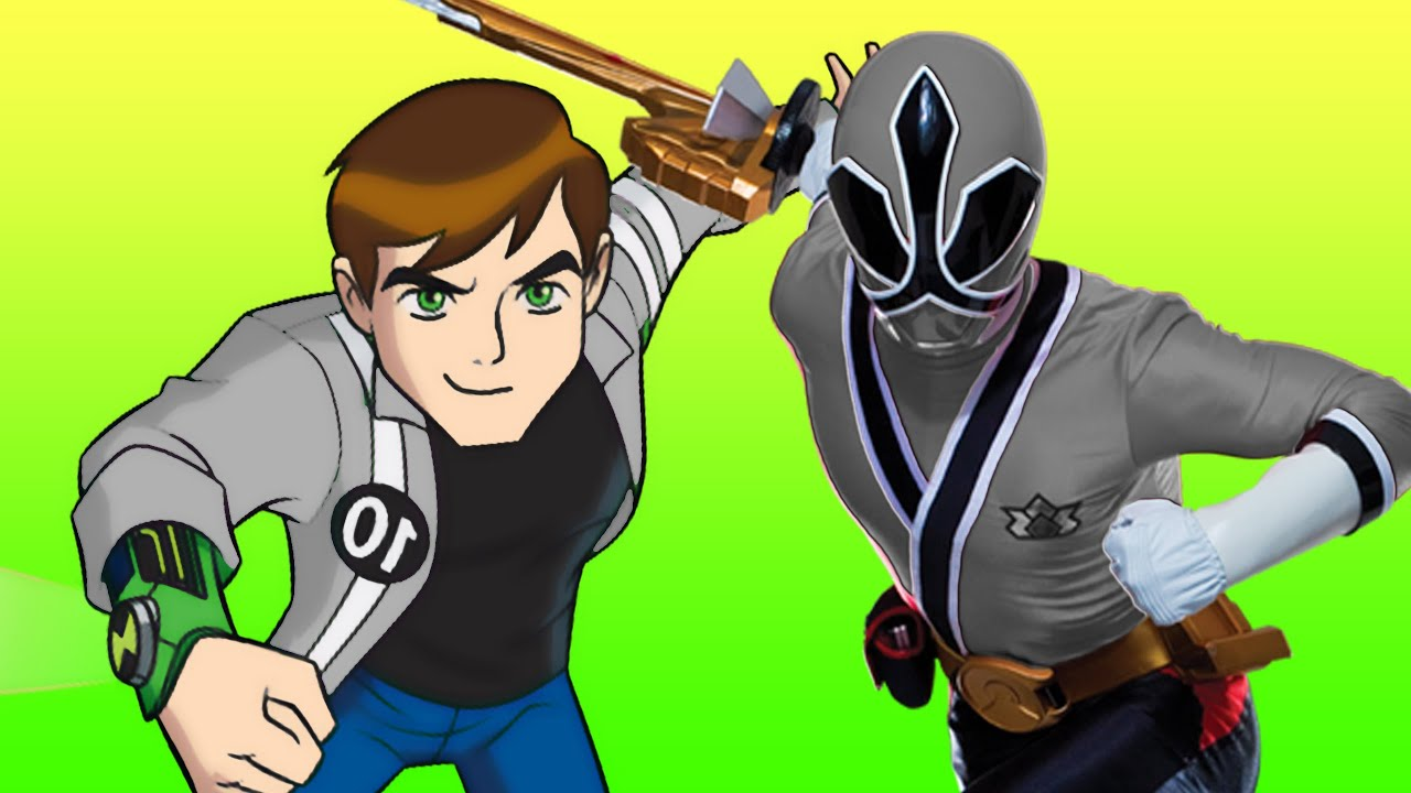 Power Rangers And Ben 10 Hard Fights Gameplay - YouTube
