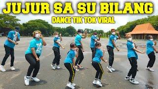 Download TIKTOK DANCE JUJUR SA SU BILANG KALO TIBAN TIBAN - ADUH MAMAE ADA COWOK BAJU HITAM