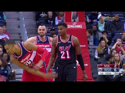 Miami Heat vs. Washington Wizards - November 17, 2017