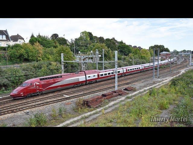 Thalys TGV PBA (réseau) - rame n° 4533