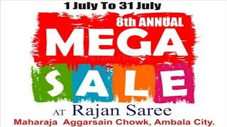 Rajan Saree wanted to promote a major sale at the outlet. Vritti-iM...
