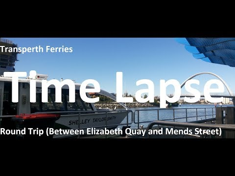 [Time Lapse] Transperth Ferries-Round Trip
