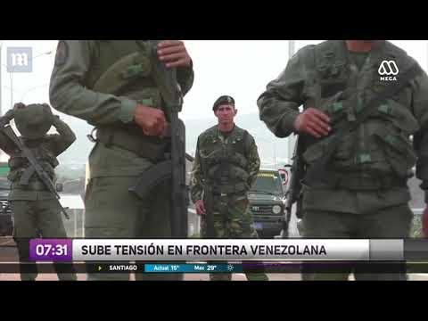 Crece tensión en frontera de Venezuela por ayuda humanitaria