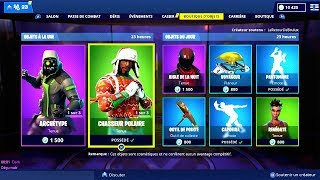 BOUTIQUE FORTNITE du 10 Décembre 2018 ! ITEM SHOP December 10 2018