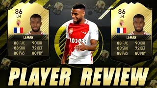 THOMAS LEMAR (86) INFORM PLAYER REVIEW! Great Player! FIFA 17 ULTIMATE TEAM!