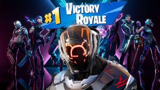 "A obtenu une victoire en solo avec ""NEW The Scientist"" peau ""Fortnite Battle Royale"""