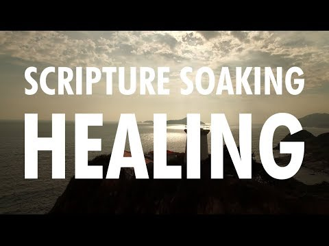 Scripture Soaking with Scripture on Healing, Relaxing Sleep Music, Stress Relief, Meditation Music