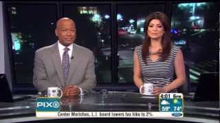Funny PIX11 Morning News Blooper by Female Anchor, Name Confusion (6-7-12)