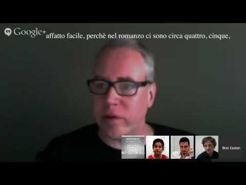 Hangout with Bret Easton Ellis, sottotitolato in italiano (The Canyons)