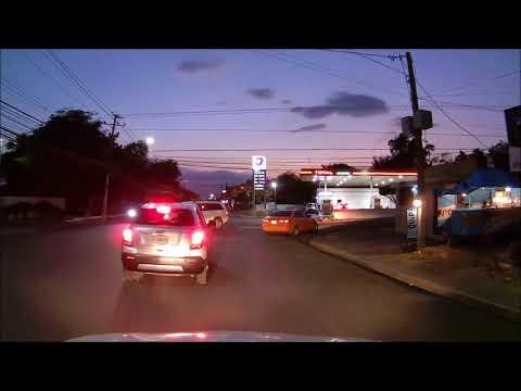 Driving Downtown - Llegando a Santiago de los Caballeros - Dominican Republic