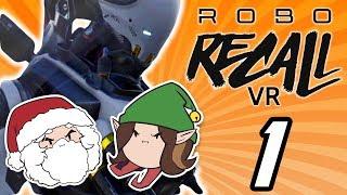 Robo Recall VR: Robot Takeover - PART 1 - Game Grumps