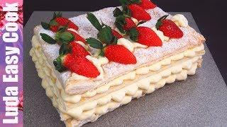 Сказочный Торт ПЛОМБИР / ДИПЛОМАТ со вкусом мороженого на праздничный Новогодний стол
