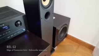 REL S2 - Subwoofer excursion
