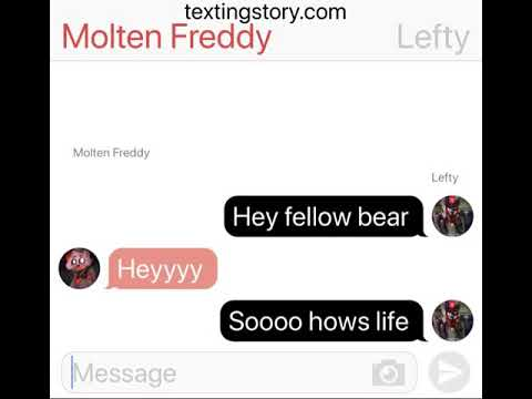 Fnaf 6 Texting Story: who does Lefty like?