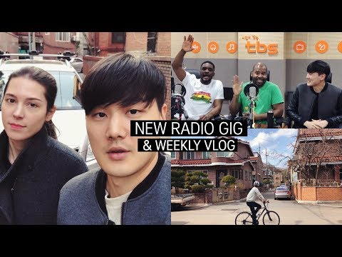 New Radio Gig & Weekly VLOG in Seoul 샘 오취리 & 그레그와 함께 일하게 됐어요!