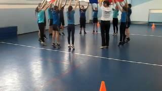 Урок физической культуры волейбол 7 класс