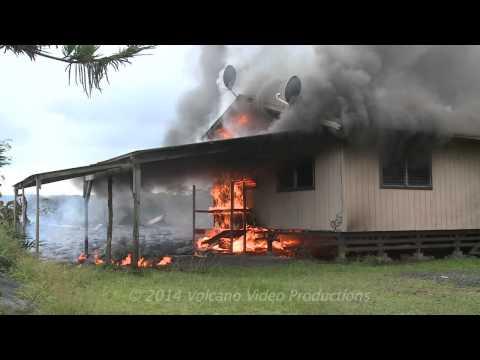 2014-11-10 lava destroys house