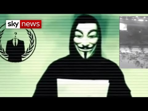'Anonymous' Group Declares War on Islamic State