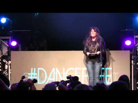Monica Lewinsky Speaks at The Dancing Man Party @ Avalon Nightclub in Hollywood