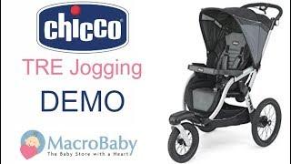 Chicco TRE Jogging - Stroller Demo   Macrobaby