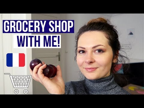 GROCERY SHOPPING IN FRANCE | My Weekly Grocery Haul Paris France