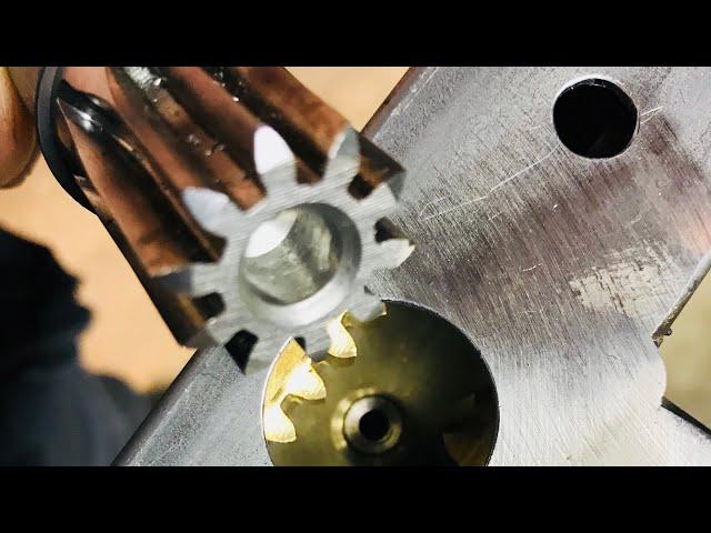 We are making door lock mechanic - Vlog84