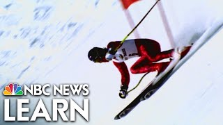 NBC News Learn: The Science of Alpine Skiing thumbnail