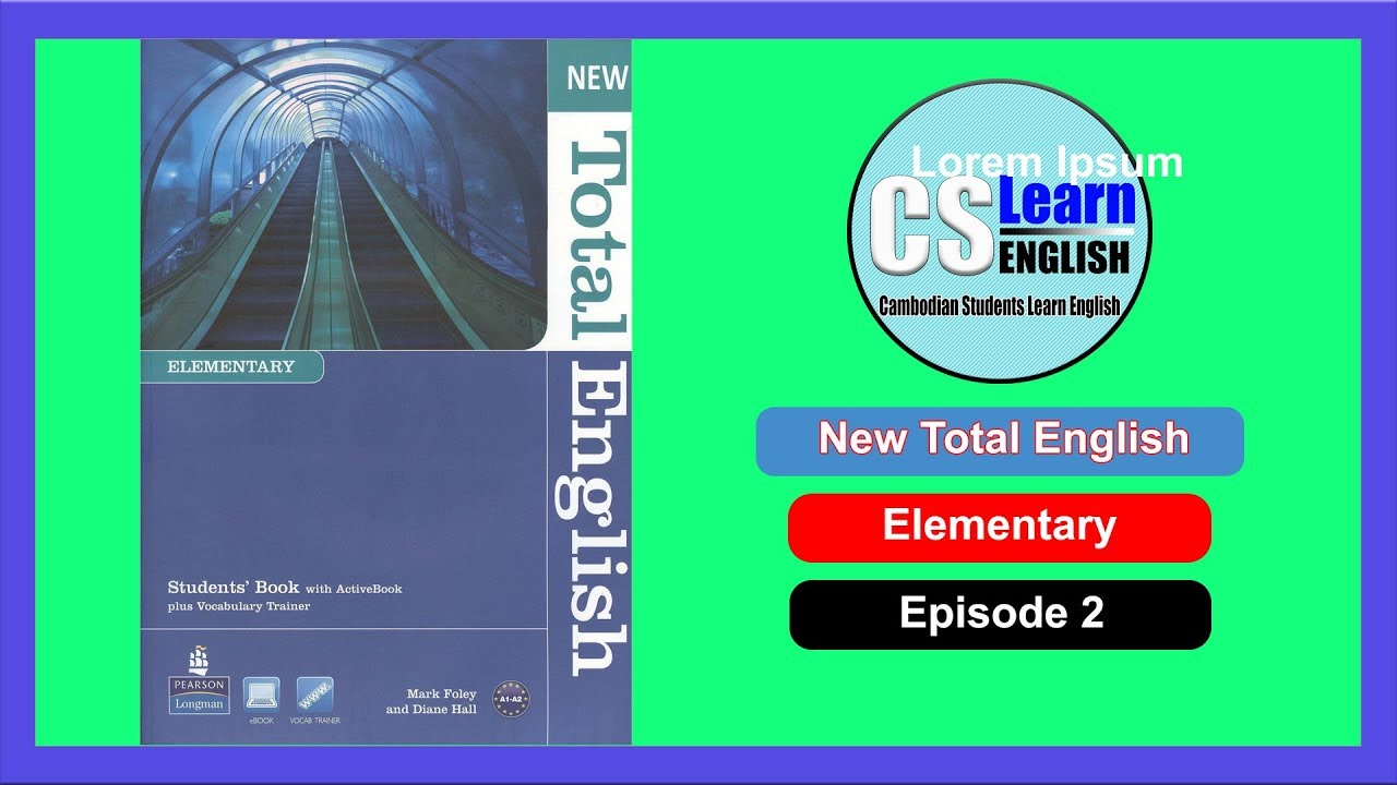 New Total English Elementary Students Book