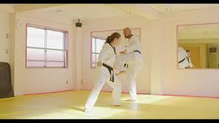 Hoshinsul #7 Bear Hug Defense (For Quiet Flame Taekwondo Blue Belt)