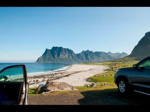 Lofoten. Travel by car to Norway. summer 2015