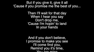Joshua Radin - In Your Hands (Lyric Video)