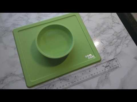 NomNom Pet Friendly Bowl and Placemat Product Review