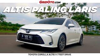 Toyota Corolla Altis V | Test Drive | GridOto