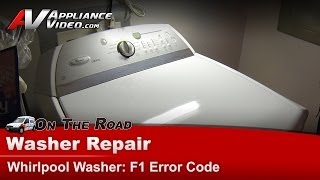 washer diagnostic repair f1 error code power supply whirlpool maytag cabrio wtw6400sw2