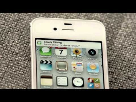 Siri for iPhone 4S - Official Apple Video
