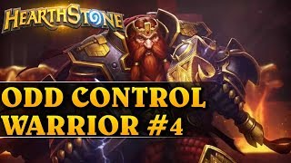 OSTATECZNY TEST! -  ODD CONTROL WARRIOR #4 - Hearthstone Decks std