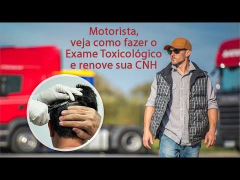 Como Fazer Exame Toxicológico para CNH