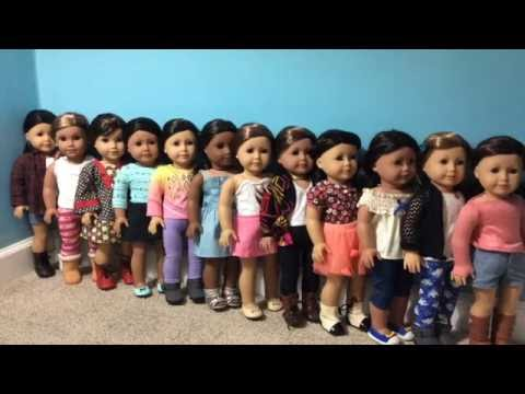 Dressing My American Girl Dolls